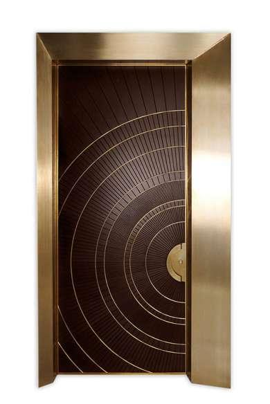 Decorative entry doors- luxor