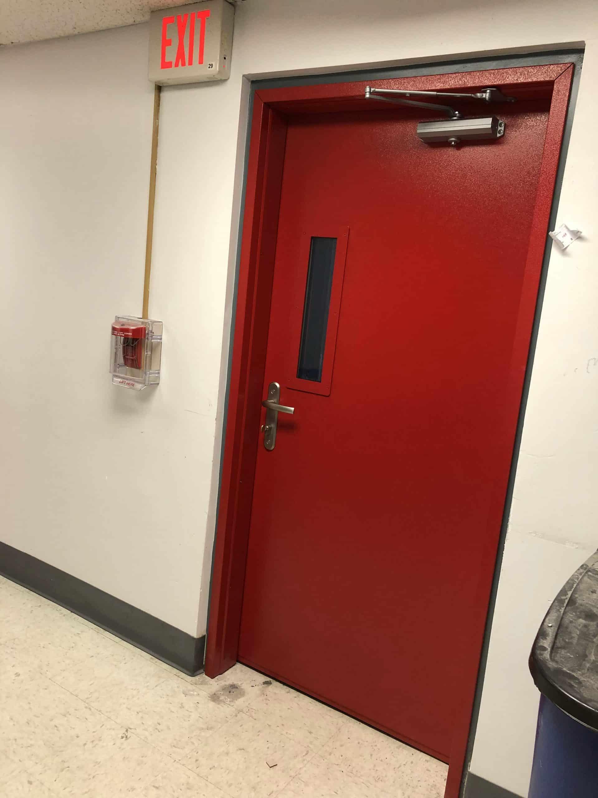 bulletproof school doors